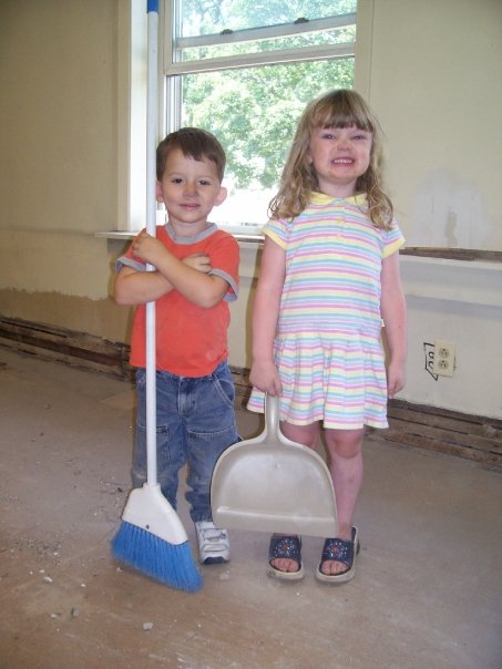 Judah Shay and Emily Lewis working for the Lord