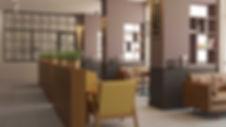 Culaccino Caffe Interior Design ინტერიერის დიზაინი კაფე ბაჰრეინში