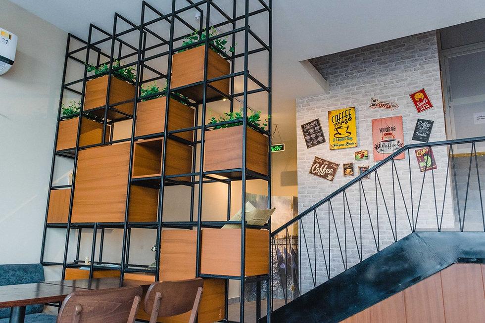 Culaccino caffe interior design | კაფე რესტორნის ინტერიერის დიზაინი