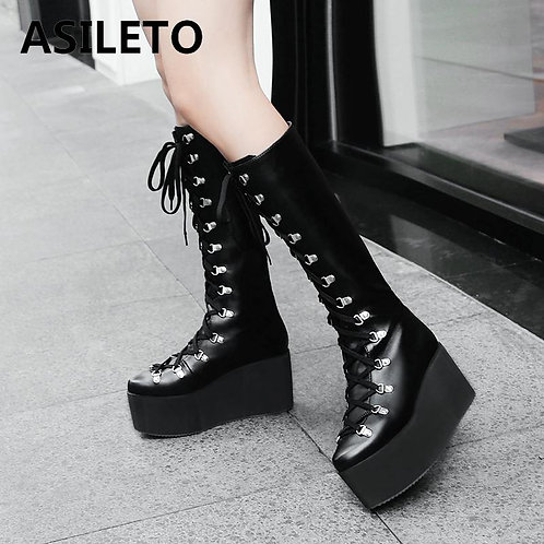 ASILETO Boots Knee High and Short