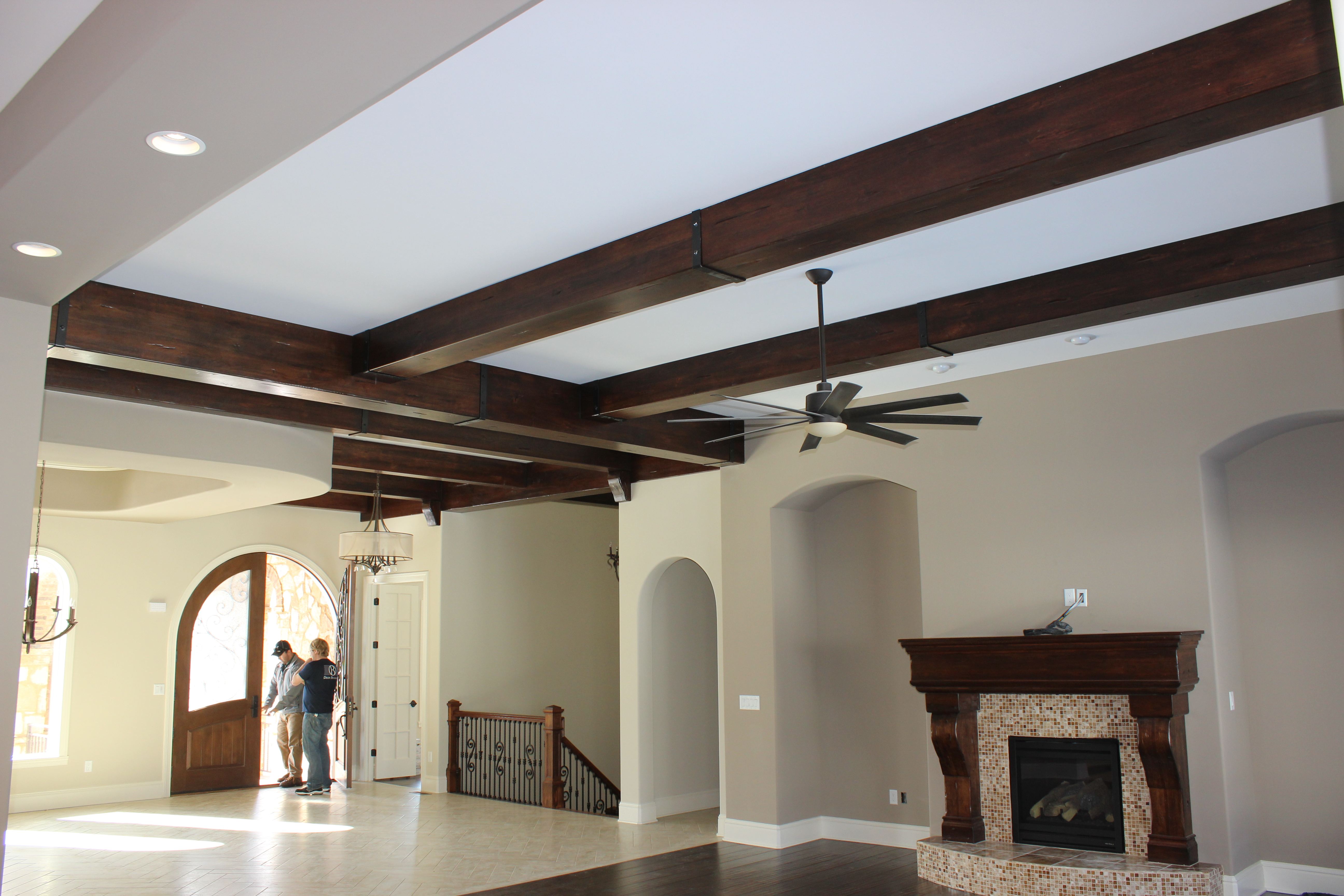 Lyptus hardwood beams