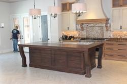 Lyptus custom kitchen island