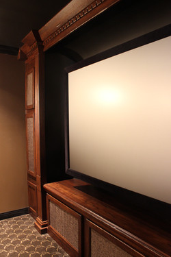 Irish Pub side theater room