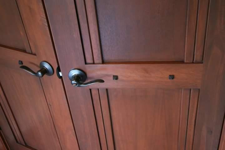Custom master quarters doors