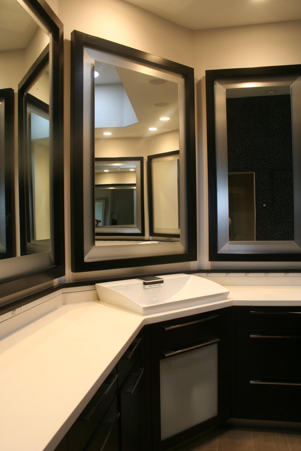 Modern Poplar Mirrors
