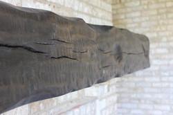 Solid Oak Timber mantle