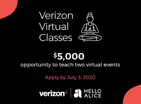 Enter the $5,000 Verizon Virtual Classes Contest