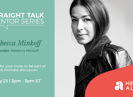 Straight Talk Mentor Series with Rebecca Minkoff