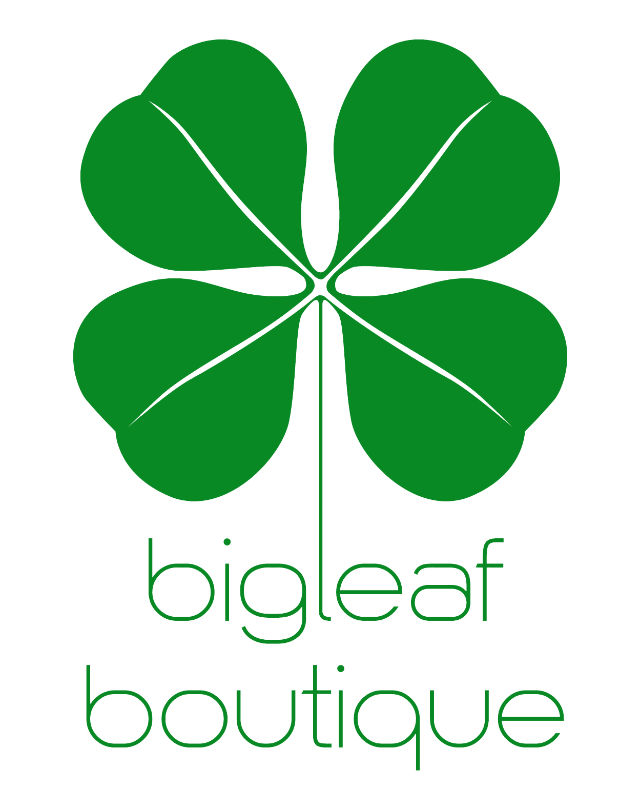 big leaf boutique logo