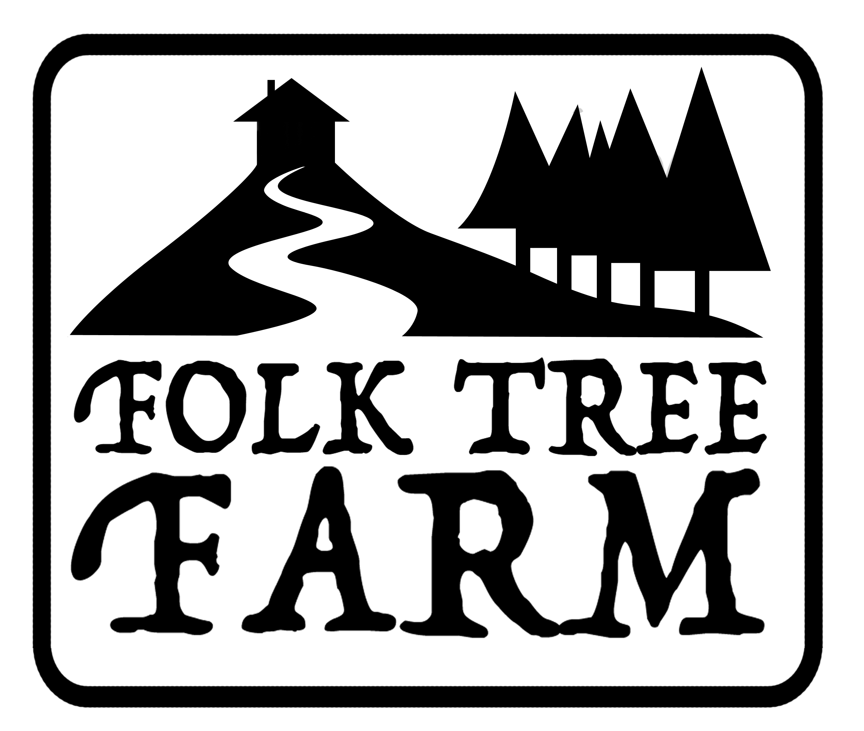 folk tree farm logo