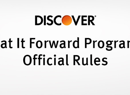 The Discover Eat It Forward Program