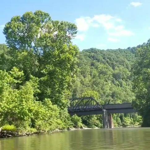 Rail Bridge over the Tug Fork River