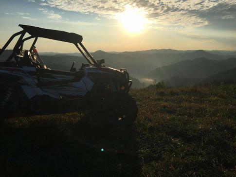 Sunset on Buffalo Mountain