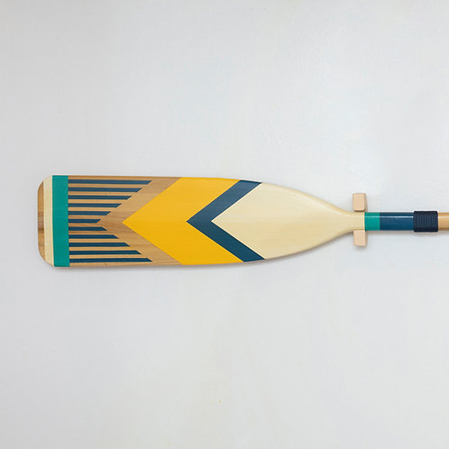 Feather Design - Yellow