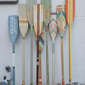 Custom Hand Painted Paddles | Oars