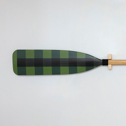 Buffalo Check Design - Green
