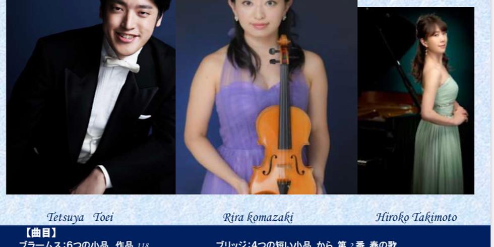 (公演中止)桐榮哲也 駒崎りら リサイタル ベートーヴェン生誕250年記念公演