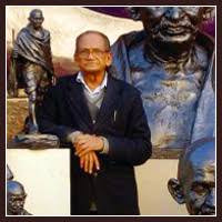 Foto de Ram Vanji Suthar, escultor