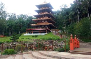 Torre de Miroku, o mais novo local sagrado oriental a uma hora de São Paulo