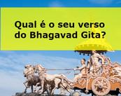 Quizz: Qual é o seu verso do Bhagavad Gita?