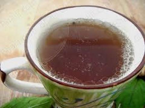 xícara de chá com khada