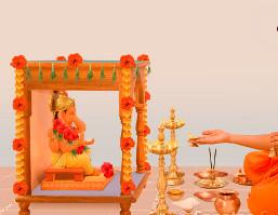 Passo a Passo como fazer um pequeno Pooja para Ganesha em casa
