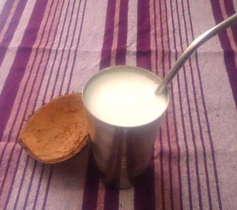 Receita Fácil de Lassi de Coco, bebida indiana