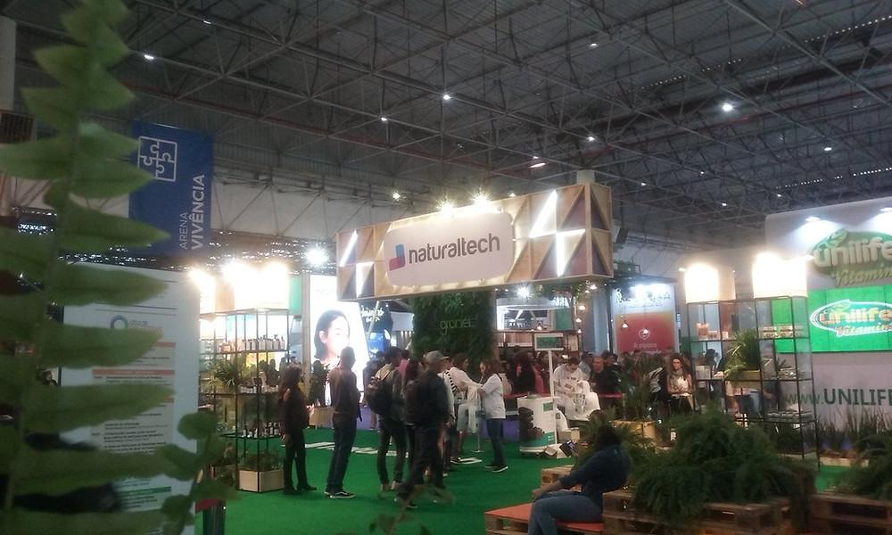 salão do anhembi com a feira naturaltech