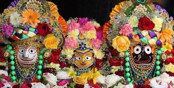 Jaganatha, Balabhadra e Subhadra
