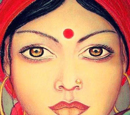 O que significa o ponto entre as sobrancelhas: Bindi e o Ajna Chakra