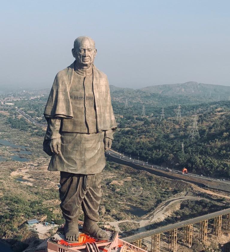 Estátua de Sardar Patel, Índia