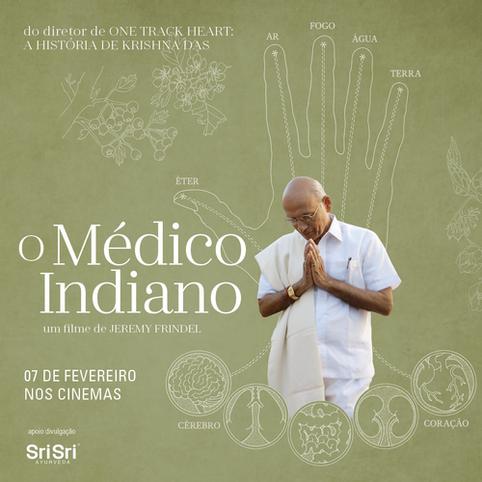 Estréia no Brasil filme sobre Vasant Lad, primeiro médico de Ayurveda no Ocidente