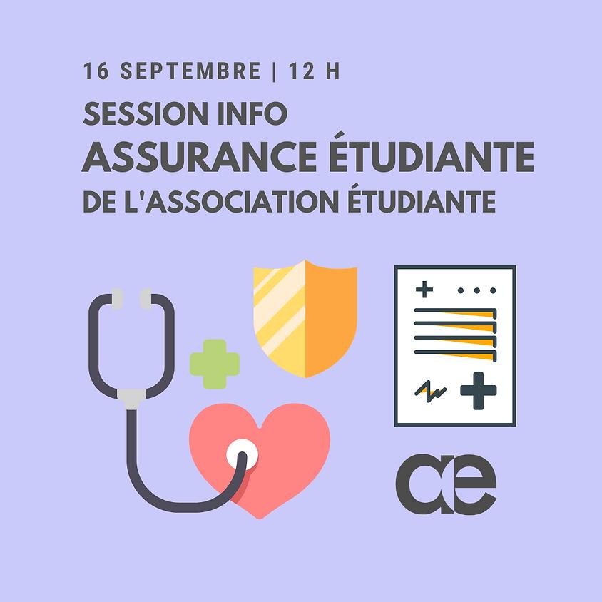 Session info - Assurance étudiante