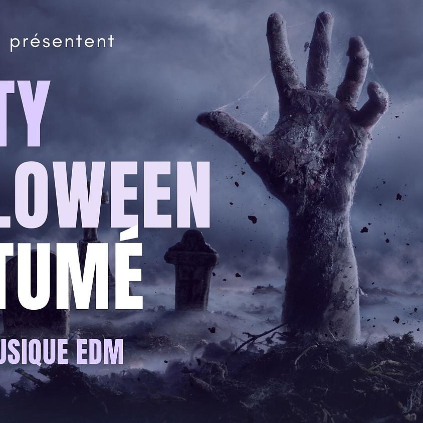 Party d'Halloween costumé