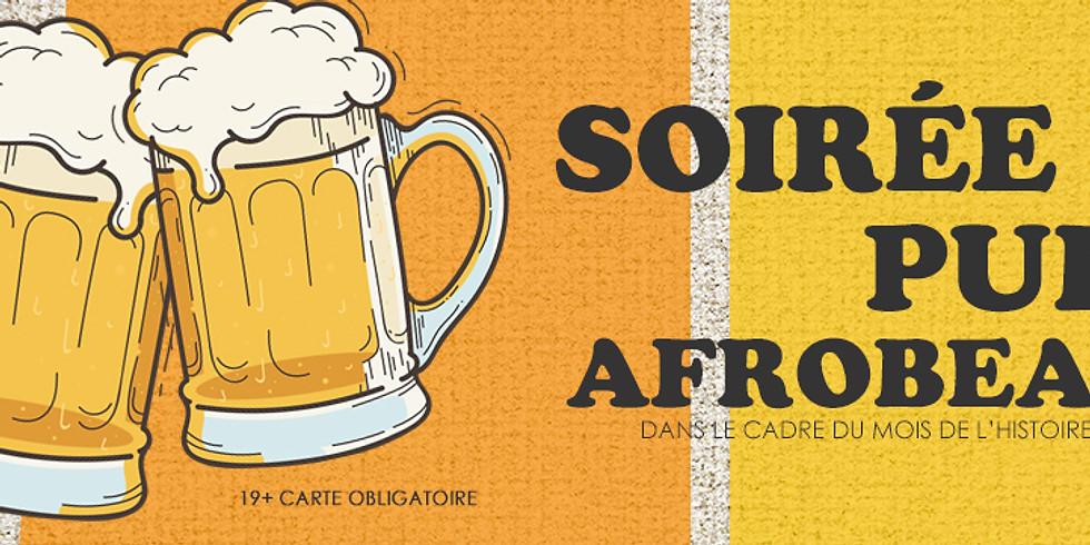 Soirée pub - Afrobeats