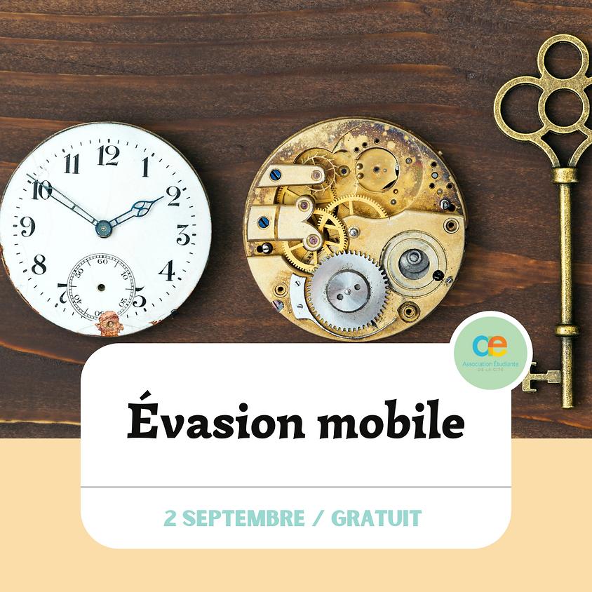Soirée Évasion mobile - Bienvenue aux 1er années!😎