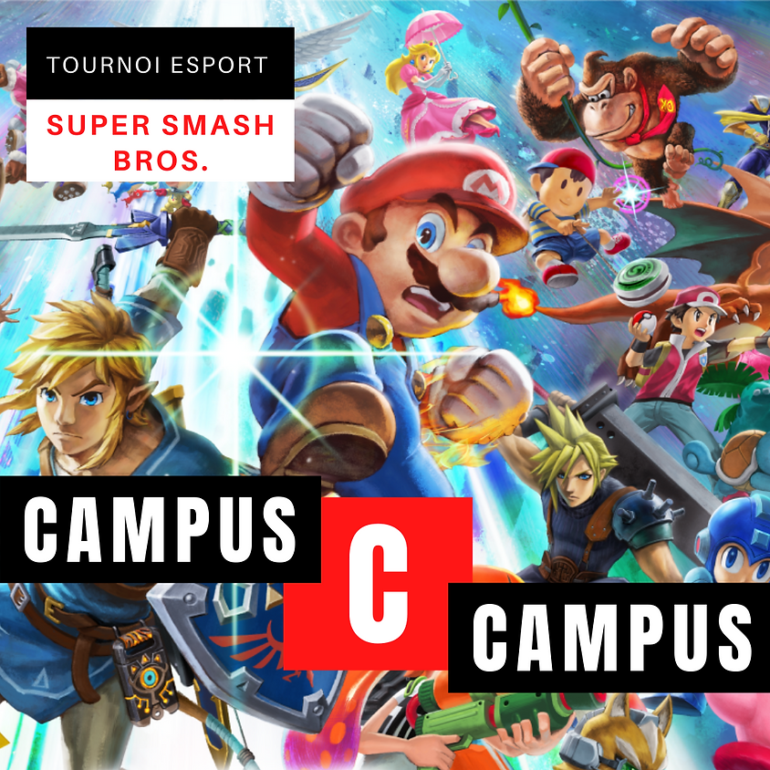 Tournoi Esport - Super Smash Bros.