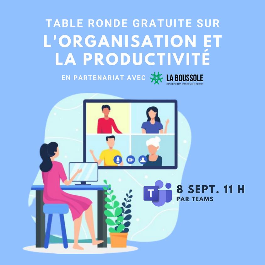 Table ronde - Organisation et productivité