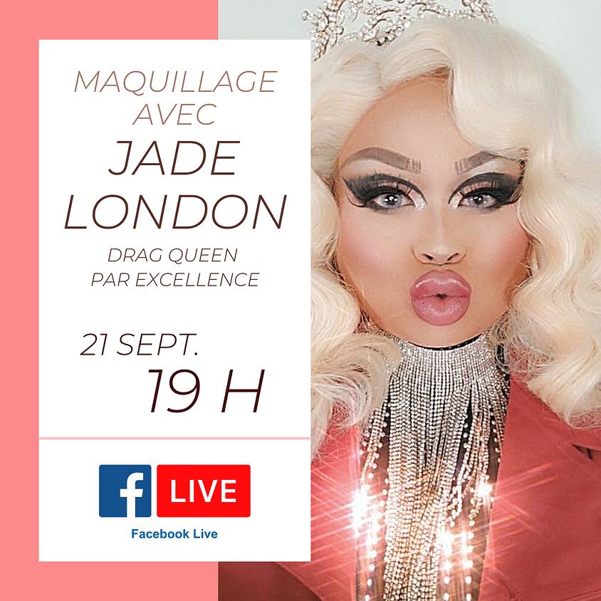 Maquillage avec Jade London