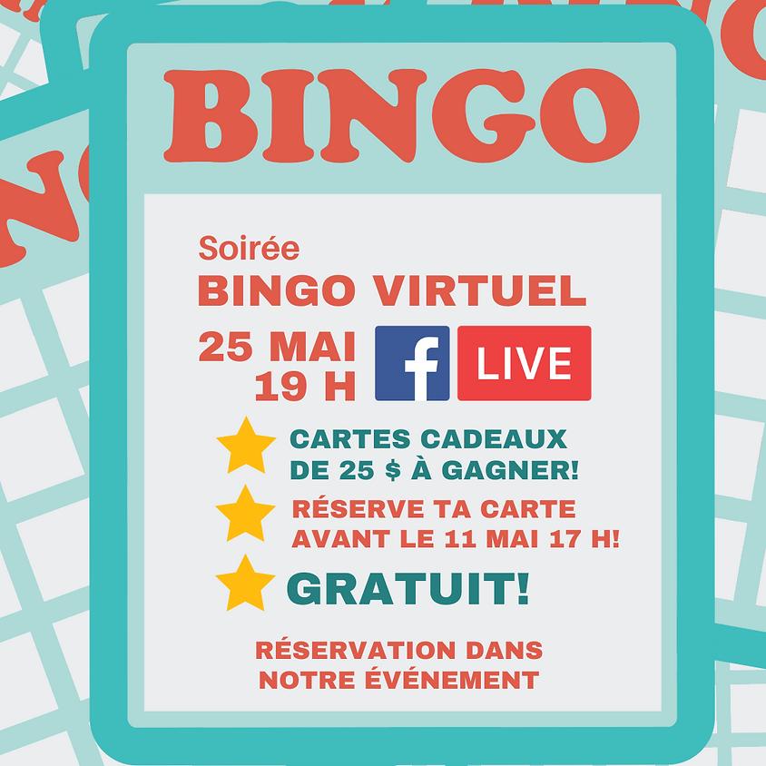 Bingo virtuel de l'AÉ