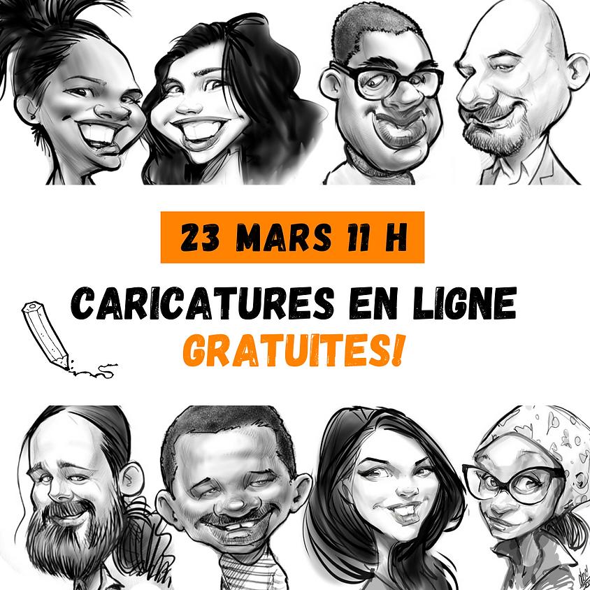 Caricatures en ligne