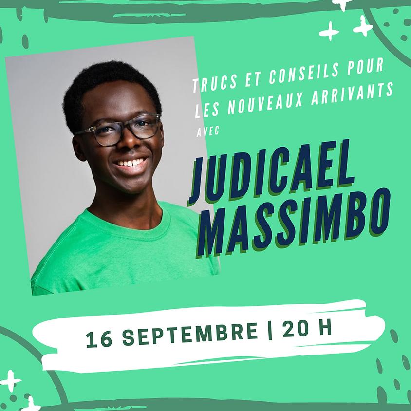On jase avec Judicael Massimbo