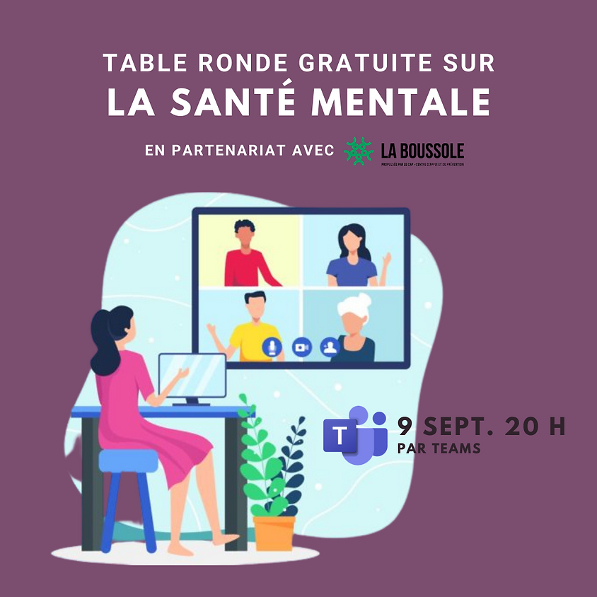 Table ronde - La santé mentale