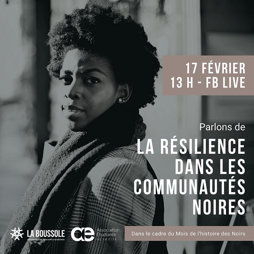 Discussion : la résilience dans les communautés noires
