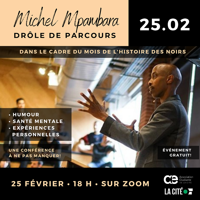 Conférence par Michel Mpambara