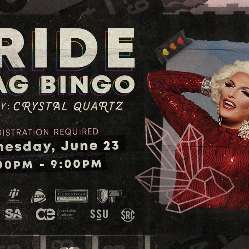 Bingo pour le mois de la fierté gaie!