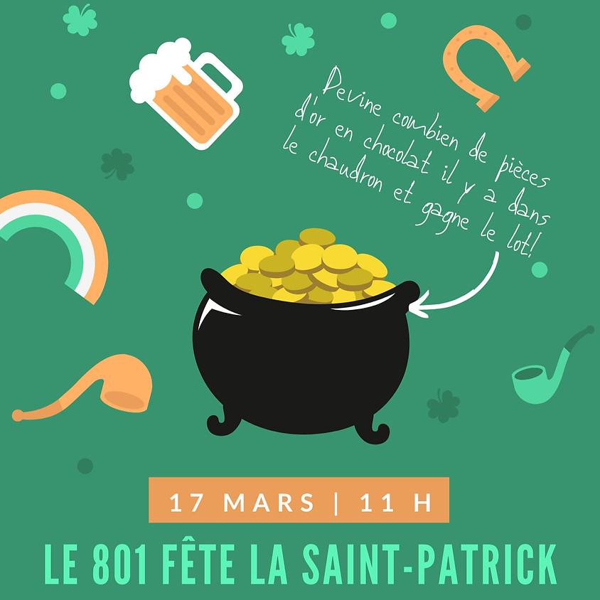 Le 801 fête la Saint-Patrick
