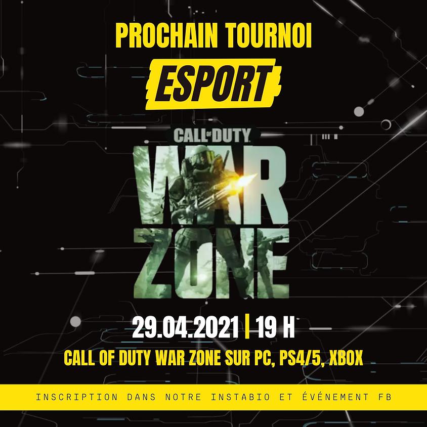 Tournoi Esport - Call of Duty : Warzone
