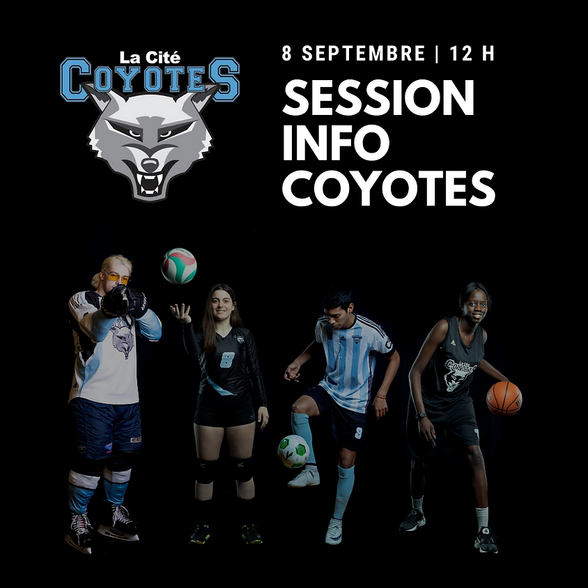 Session info - Coyotes