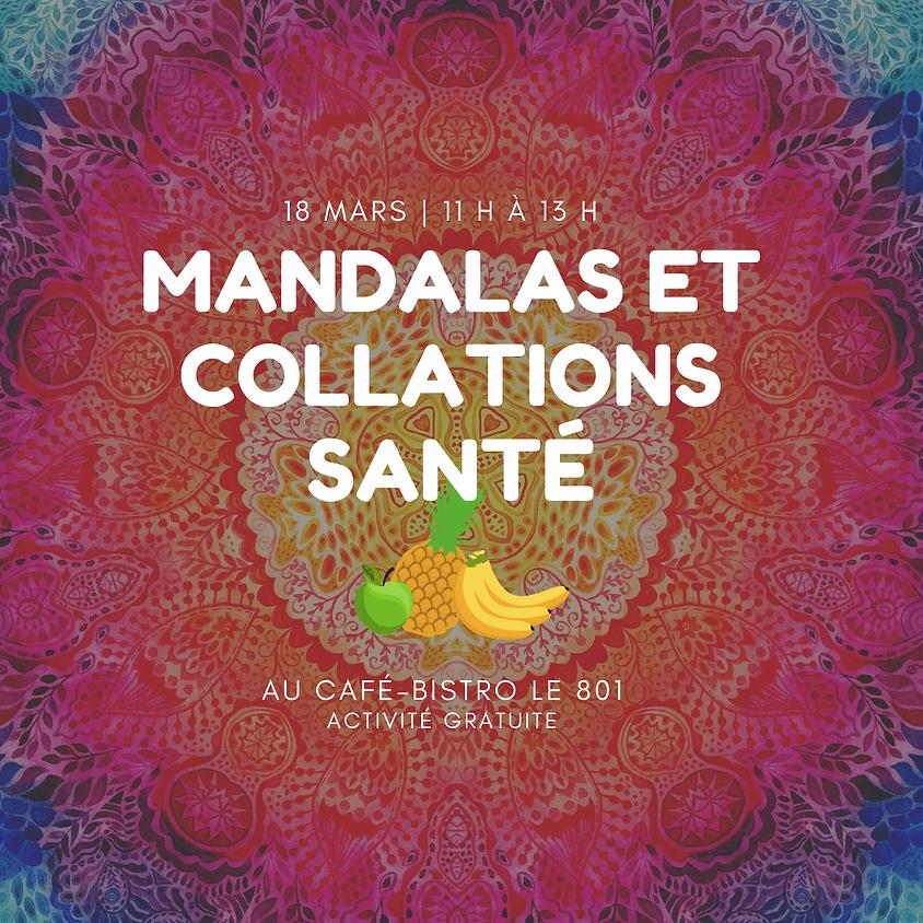 Mandalas et collations santé